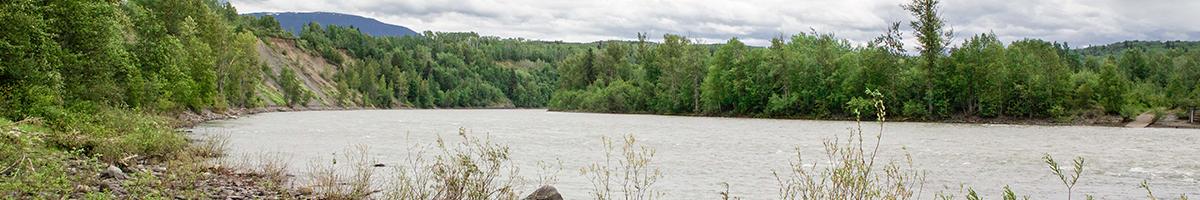 Bulkley river from Ksan