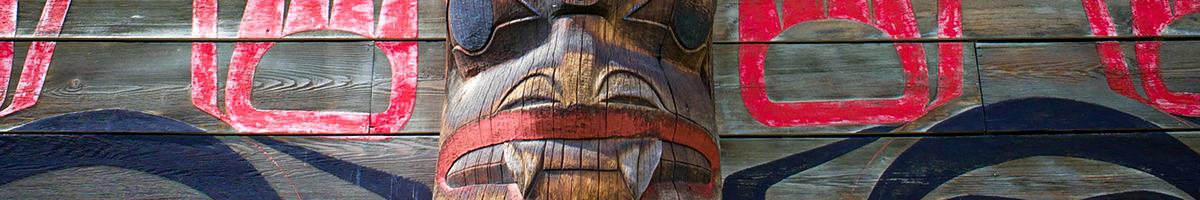 Totem at Ksan